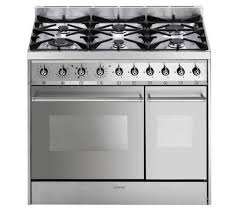 Smeg Induction Cooktops Buy Smeg C92dx8 Dual Fuel Range Cooker Stainless Steel Free