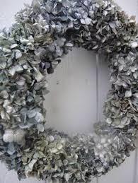 hydrangea wreath natural wreath mothers day gift garden wreath