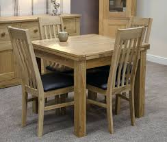 charming extendable glass dining table and 6 chairs full size