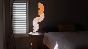nanoleaf aurora wireless wall lighting overview review amvsement