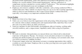 sample resume for respiratory therapist respiratory therapy cover
