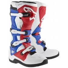 berik motocross boots alpinestars tech 5 boots white red blue online motorcycle