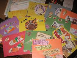 thanksgiving placemat crafts life with nine kids november 2011
