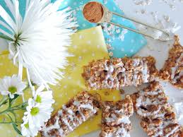 healthy carrot cake breakfast bars recipe sofabfood