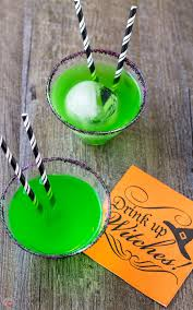 flying monkeys a halloween melted witch cocktail