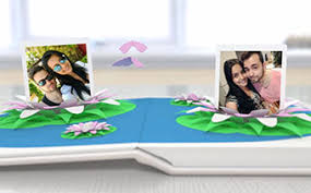 wedding photo album wedding album pop up book duration en