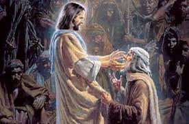 Jesus Healed The Blind Man One Whom Jesus Touches