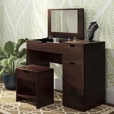 bedroom vanity sets lighted bedroom vanity sets wayfair