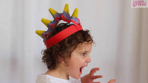 dinosaur hat made from an egg carton youtube
