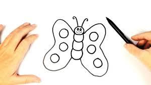 imagenes de mariposas faciles para dibujar cómo dibujar una mariposa para niños dibujo fácil de una mariposa