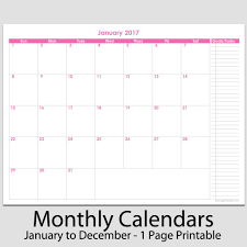 printable 12 month planner 2015 2017 12 month calendar with tasks 8 1 2 x 11 legacy templates