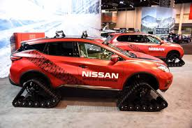 nissan murano vs rogue nissan triples down on winter warrior concepts
