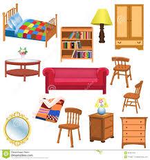 Bedroom Furniture Items Clip Bedroom Furniture Clipart