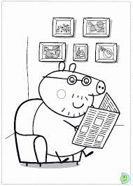 peppa pig coloring pages kids coloring