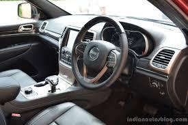 jeep grand cherokee summit interior jeep grand cherokee grand cherokee srt launched in india