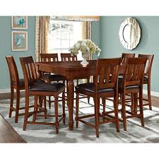 victoria counter height table and chairs 9 piece set sam u0027s club