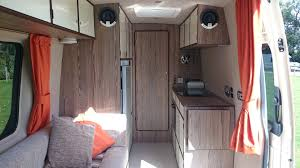 volkswagen crafter interior large van camper conversions in devon cornwall dorset somerset