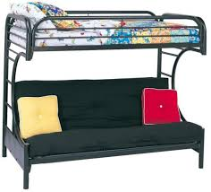 Loft Bed With Futon Fordham C Style Futon Bunk Bed
