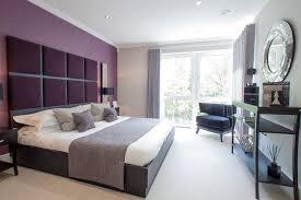 couleur aubergine chambre chambre aubergine et gris lzzy co