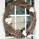 DIY} Rustic + Vintage Grapevine Wreath with Charming Paper Doily ...