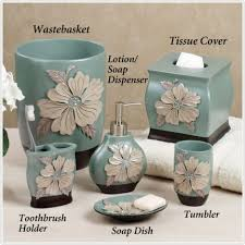 Blue Bathroom Accessories by Modern Makeover And Decorations Ideas Spa Bathroom Accessories