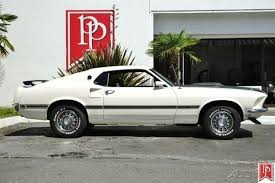 1969 Mustang Black 1969 Ford Mustang Mach 1 Sportsroof In Wimbledon White With Black