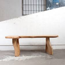 S Shaped Bench Naturalistic Shaped Long Bench By C A Beijbom 1960s For Sale At