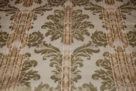 Striped Drapery Fabric Rem328 6 Yard Bolt Stunning Sage Green Floral Striped Jacquard