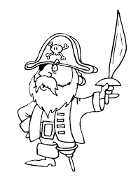 pirate treasure colouring coloring pages preschool sheet