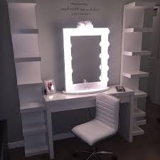 vanity mirror with lights ikea ikea malm vanity kolja mirror musik lights for with idea 2