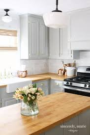 white kitchen cabinets wood trim 25 ways to style grey kitchen cabinets