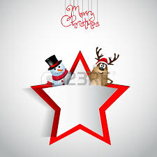cute santa reindeer with christmas decorations royalty free
