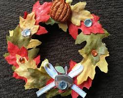 autumn ornaments etsy