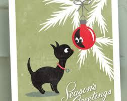unique christmas cards unique cards etsy