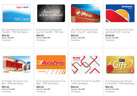 ebay save on gift cards for lowe s exxon speedway southwest