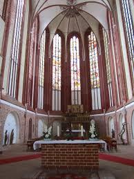 Bad Wilsnack Bad Wilsnack Wunderblutkirche St Nikolai Chor Mit Dreiteiligen