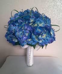 Blue Wedding Flowers Beautiful Blue Bridal Bouquet Bouquet Wedding Flower