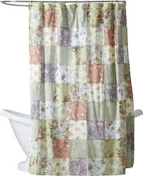 Adirondack Shower Curtain by August Grove Bauer Patchword Cotton Shower Curtain U0026 Reviews Wayfair