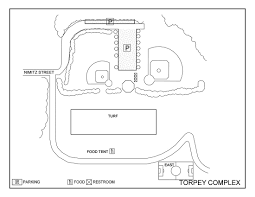 Bridgewater State University Map by Playing Facilities