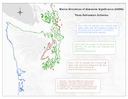 District Maps Of Jurisdiction Washington by Shoreline Management Act Jurisdiction Shorelines Of Statewide