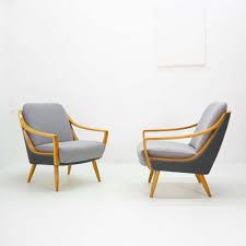 sessel 50er design 50er jahre knoll antimott sessel aus kirschbaumholz neu bezogen