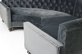 Semi Circle Couch Sofa by Living Room Comfortable Charcoal Sectional For Elegant Living