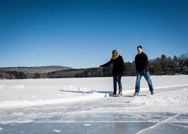 adventure center at skytop lodge ice skating