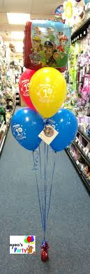 mylar balloon bouquets paw patrol balloon bouquet paw patrol balloons paw patrol and