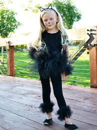 how to make an easy black cat halloween costume diy halloween