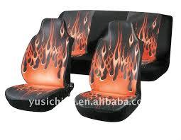 housse de siege voiture housse de siège de voiture avec flamme buy product on alibaba com