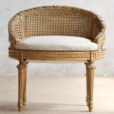 Eloquence One Of A Kind Vintage French Gilt Cane Louis Xvi Style Twin Bed Pair 19th Century French Painted Coiffeuse Louis Xvi Style Vanities