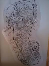 japanese phoenix full sleeve by dude skinz tattooing on deviantart