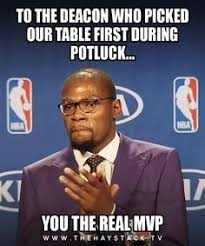 Potluck Meme - christian meme monday dust off the bible