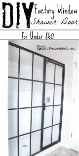 Diy Frameless Shower Doors Diy Industrial Factory Window Shower Door Shower Doors